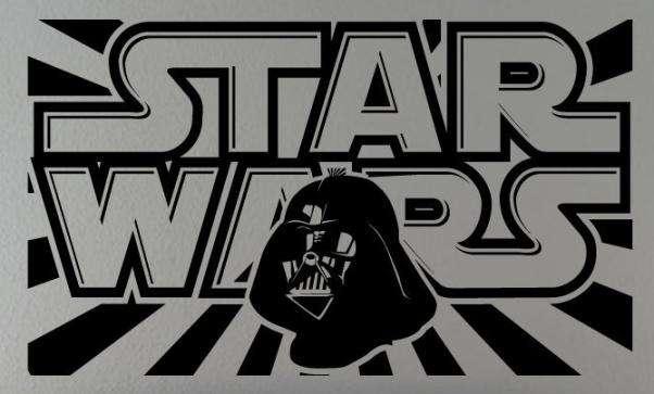 Vinilo Decorativo Star Wars Darth Vader