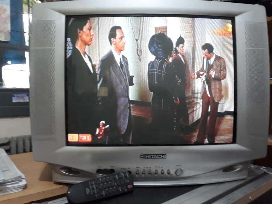 Tv Hitachi 21 Pant Plana Control Remoto