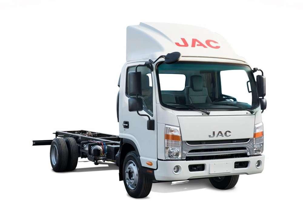 Camión JAC 5 Toneladas con Chasis Cabina VIP Euro 4 Serie N - SD400 N CHC E4 VIP - MAX FORCE