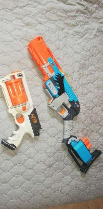 Pistolas de Nerf Dos X Uno