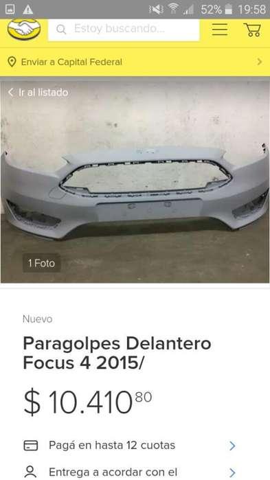 Paragolpe Delantero Focus
