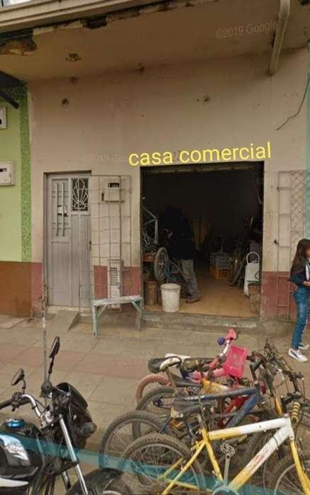 VENDO CASA COMERCIAL NEGOCIABLE