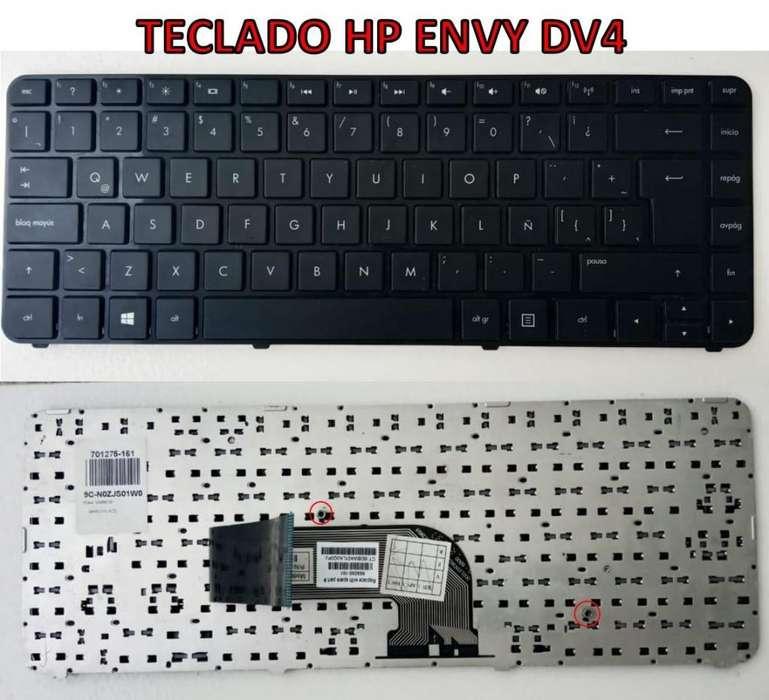TECLADO HP ENVY DV4