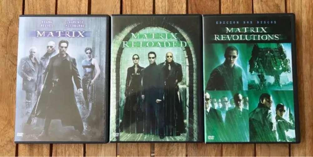 Dvd Trilogía Matrix