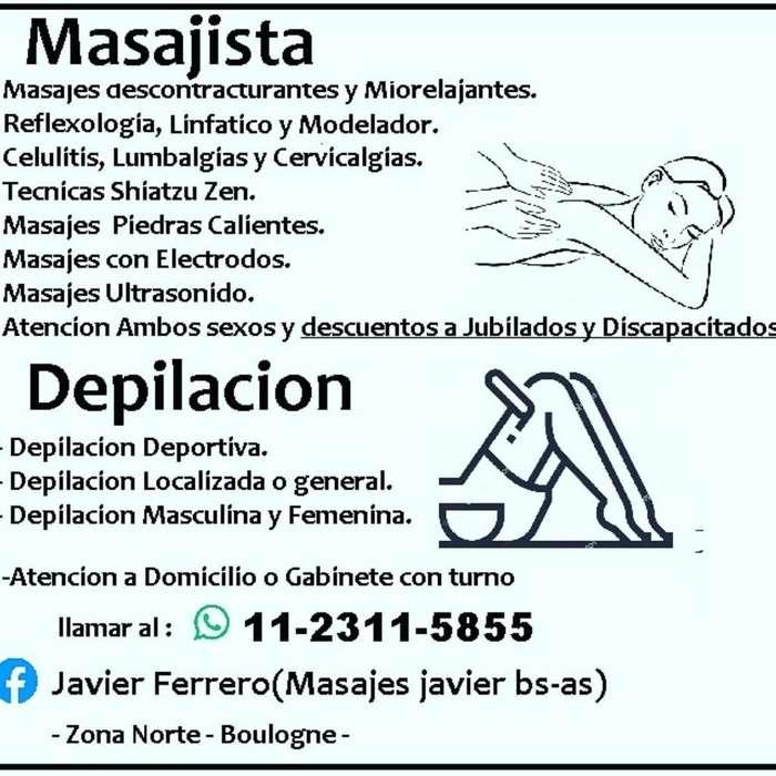 Masoterapia Y Depilación