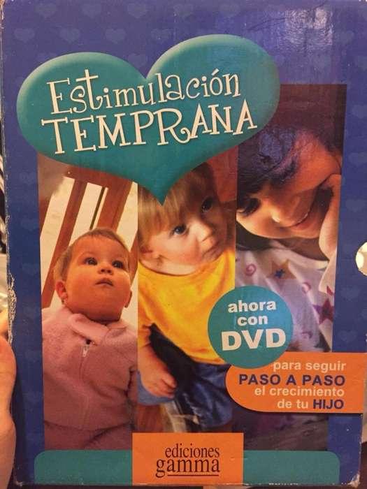 Estimulación Temprana tres tomos como nuevos