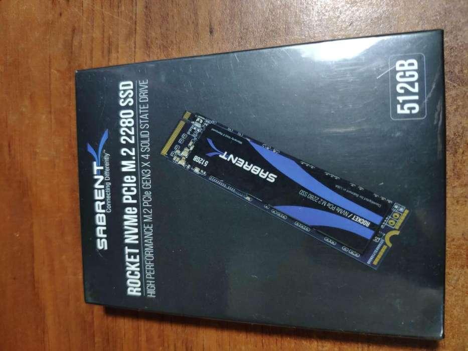 SSD M.2 2280 PCIe Gen 3x4 Sabrent 512 GB