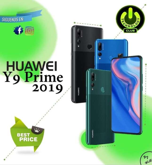 Huawei Y9 Prime 2019 128 Gb Rom 4 Gb Ram nuevos / Celulares sellados Garantia 12 meses / Tienda Fisica Centro Trujillo