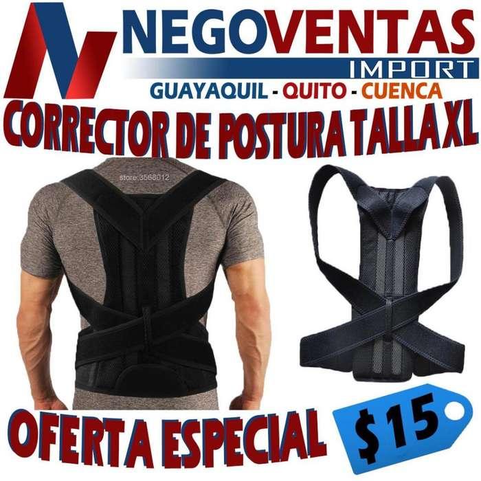 CORRECTOR DE POSTURA TALLA XL DE OFERTA
