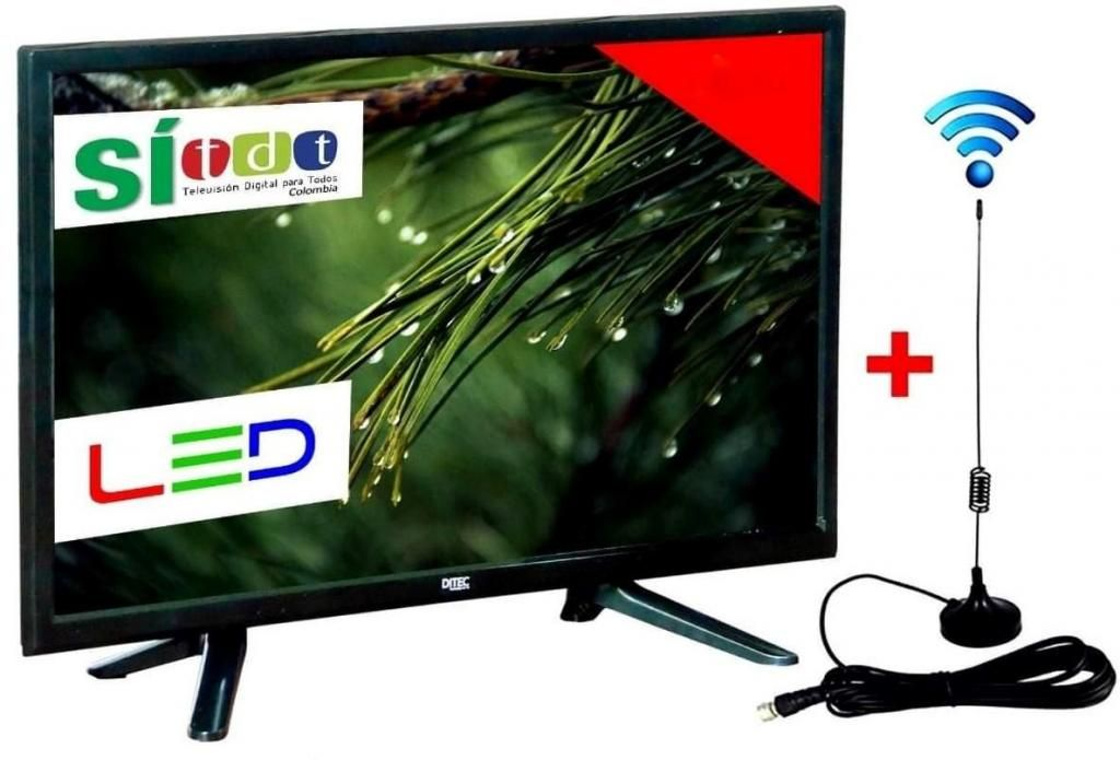 TELEVISOR 22 PULGADAS TDT DVB T2 FULL HD 1080P