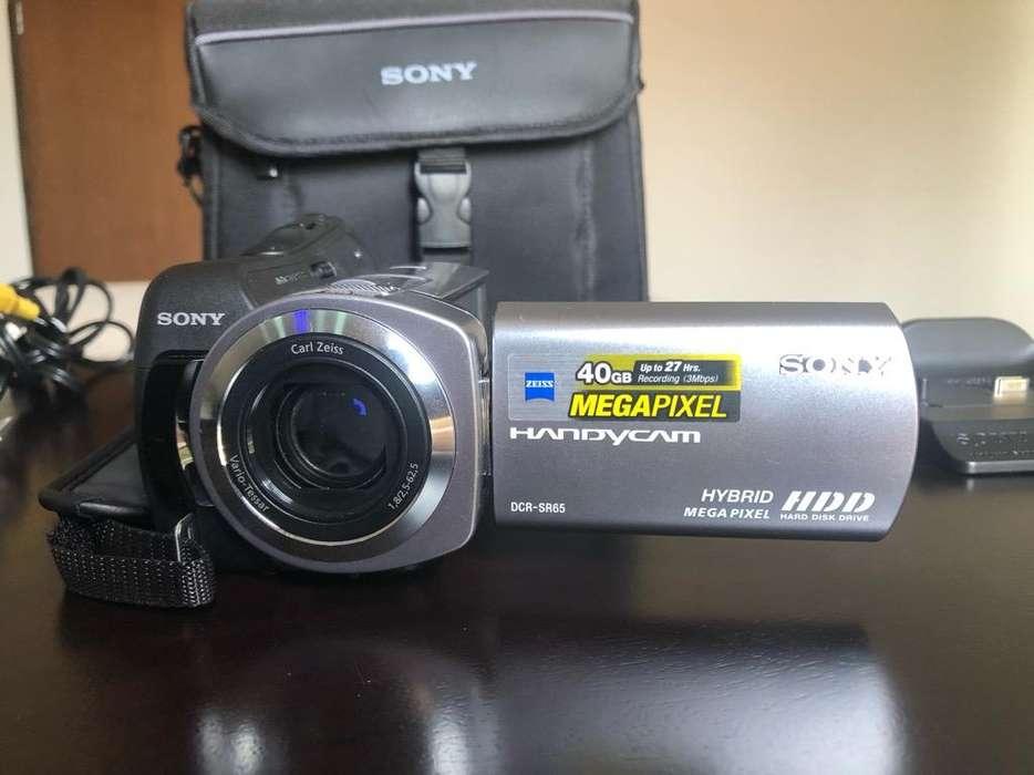 Sony Handycam Dcr-Sr65 -Vision Nocturna