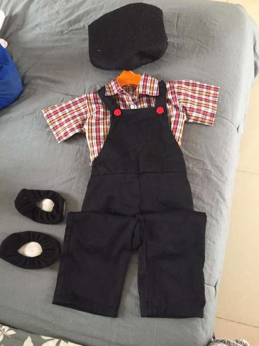 Disfraz Jardinero Talla 4