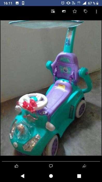 Carro Frozer Princesa