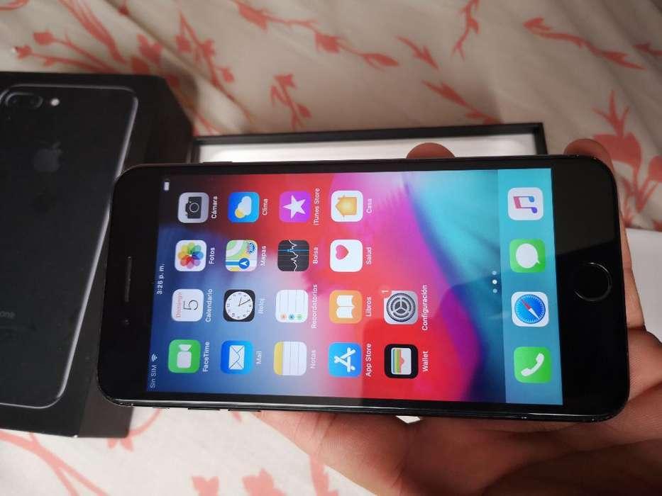 Vendo iPhone 7plus de 256gb Libre Import