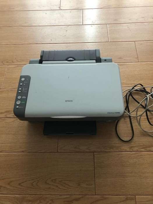 Impresora Epson Styluscx3700 - Funciona