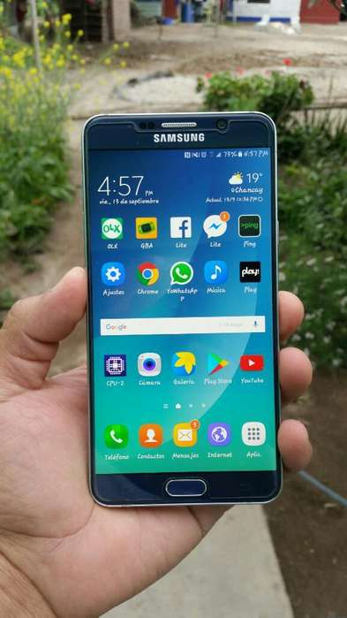 Vendo Mi Samsung Galaxy Note 5
