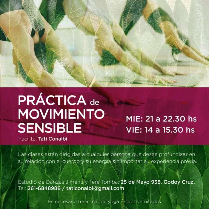 NECESITÁS FORTALECER, ESTIRAR, RESPIRAR Y RELAJAR? Práctica de Movimiento Conciente