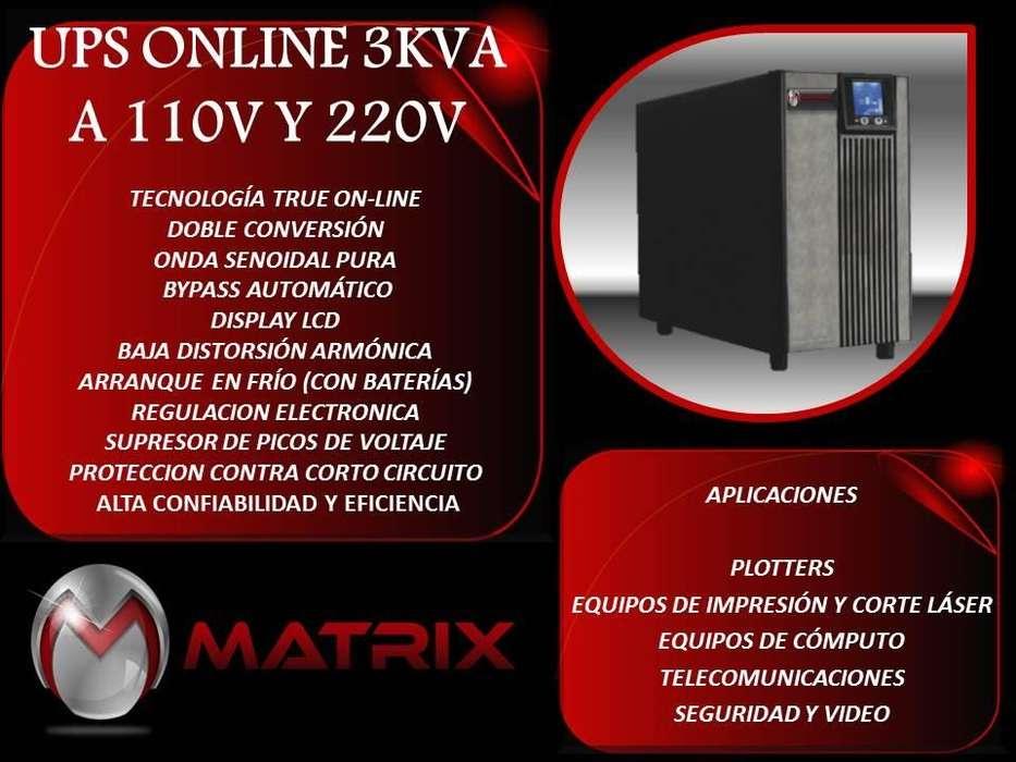 UPS ON LINE 3000 A 110 Y 220 VOLTIOS