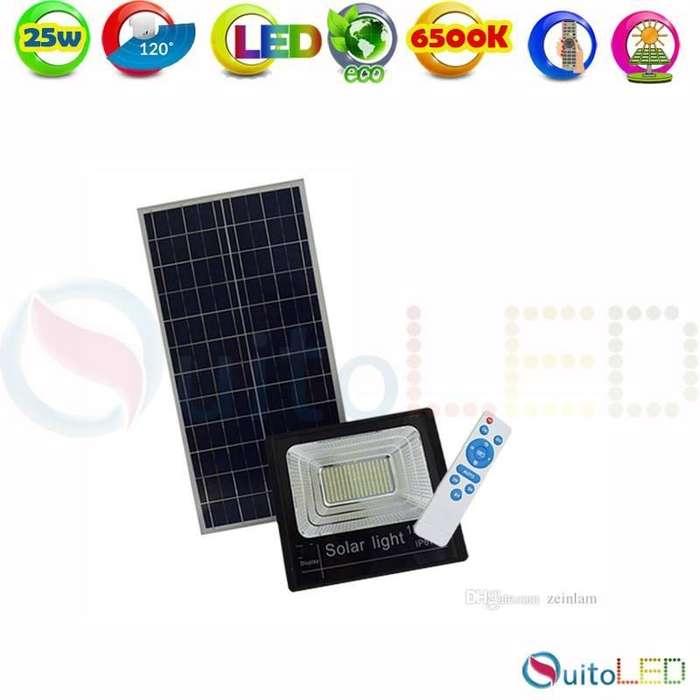 Reflectores con Panel Solar y Control Remoto de 25w 40w 60w 120w 200w Quitoled