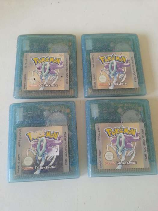 Pokemon Cristal Gameboy Color