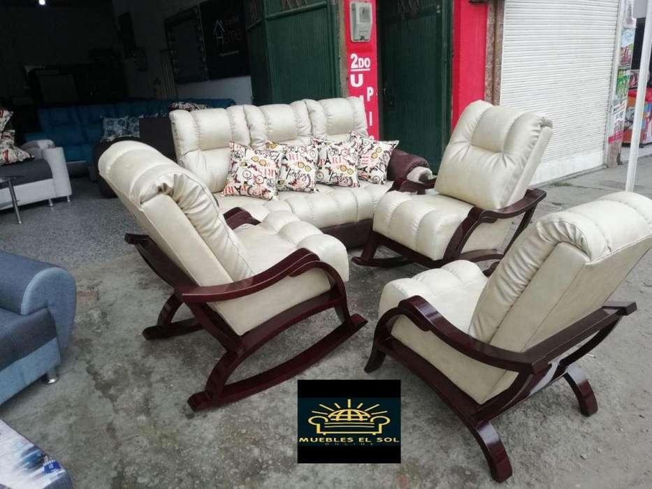 Sala California con mesedoras en Cedro fabricantes directos contactenos distintos modelos 3002110854