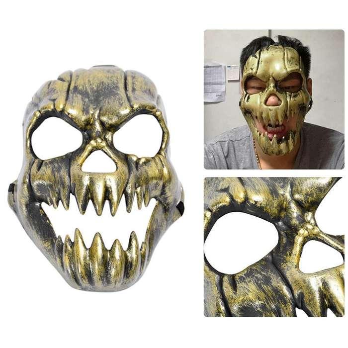 Mascara calavera craneo de terror zombie