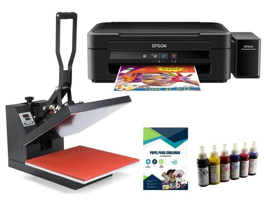 impresora de sublimacion y plancha