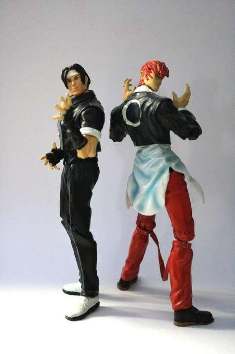 Iori Kyo King Of Fighters Kof Capcom Vs Snk Figuras