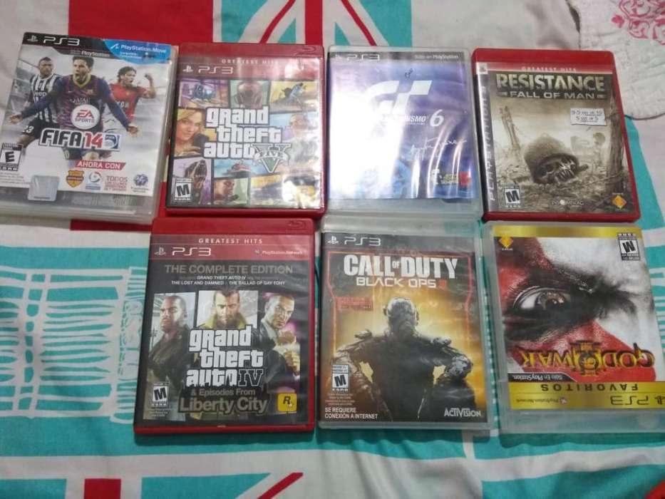 Se Vende Playstation 3 Original juegos