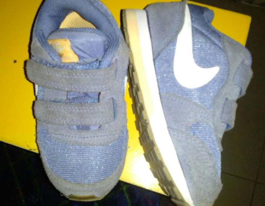 zapato niño nike original talla7 poco uso