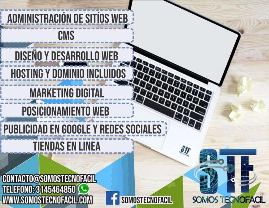 DISEÑO Y DESARROLLO WEB, MARKETING DIGITAL Y PUBLICIDAD