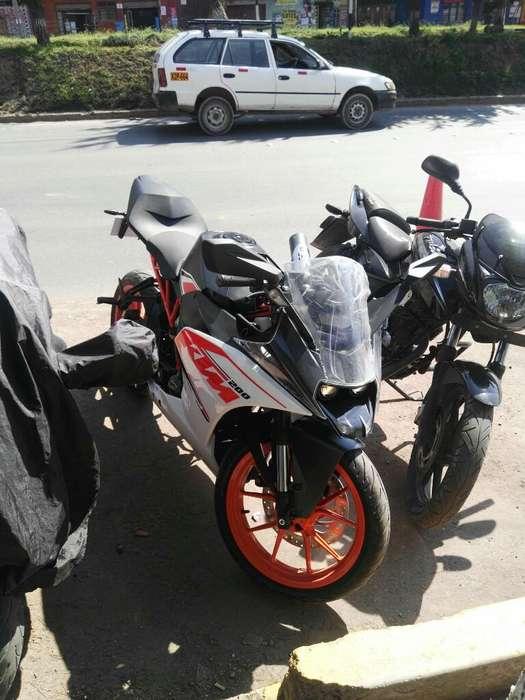 Vendo Motocicleta Ktm Rc 200