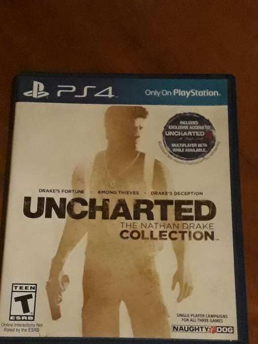 Ps4 Uncharted The Nathan Drake Collectio