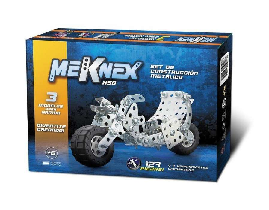 MEKNEX K50 127 PIEZAS CON HERRAMIENTAS ALVAREZWEB