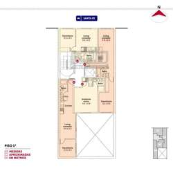 Santa Fe y Callao - Amplio Dpto de 1 Dormitorio Externo. Posibilidad cochera. Vende Uno Propiedades