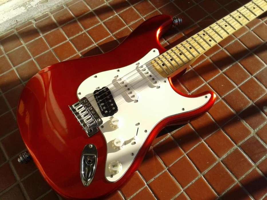 Guitarra Squier Stratocaster Con Seymour Duncan JB.