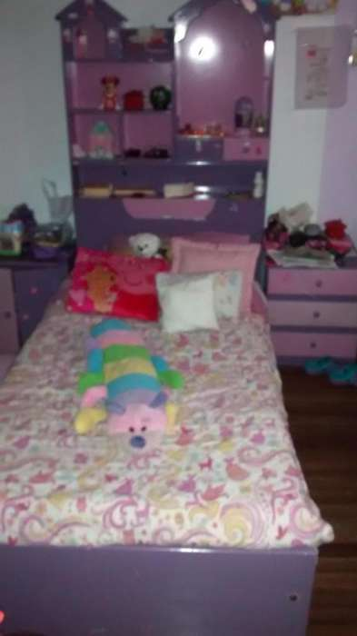 venta de cama cuna para niña