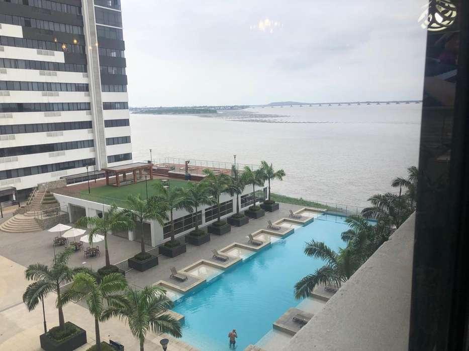 Alquiler,Renta, Arriendo Suite Amoblada, Bellini 1000, en Puerto Santa Ana, Norte de Guayaquil