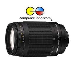 NIKON Lente 70 300mm f/45.6G de Camara Profesional Nuevo