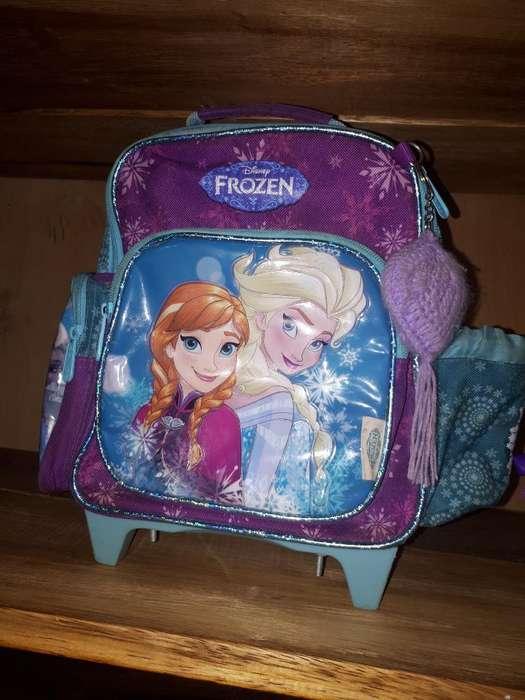 Mochilita con Carrito Frozen
