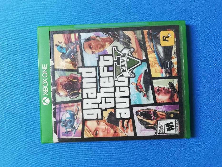 Vendo Gta 5 Original para Xbox One