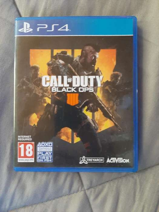 Juego Call Of Dutty 4 Ps4 en Ingles