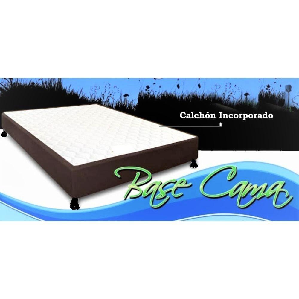 Dos en uno Base cama con colchón incorporado 100X190 envió G