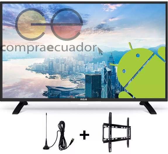 Rca Televisor Led 43 Smart Android Señal Digital Soporte