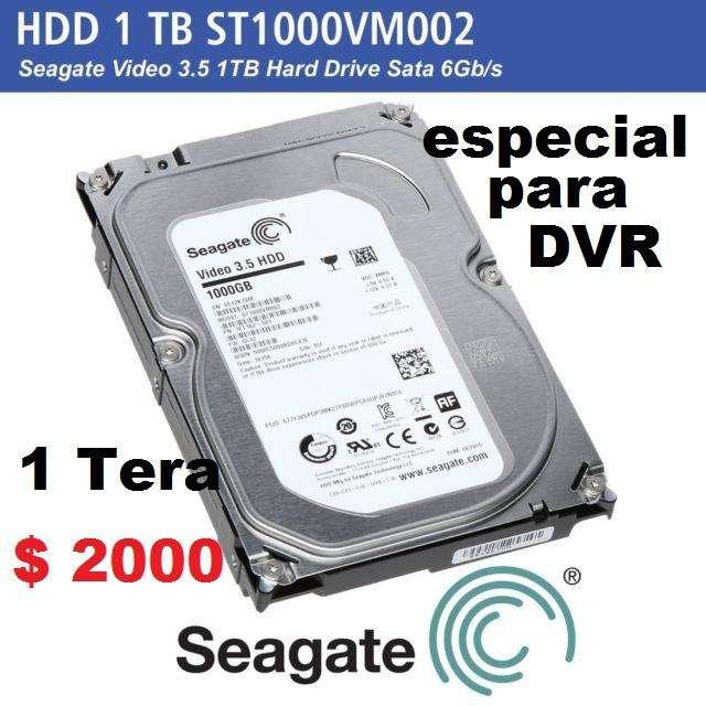 Disco Rígido 1TB Seagate Video 3.5 Especial para DVR - Como Nuevo - en Ramos Mejia - garantía