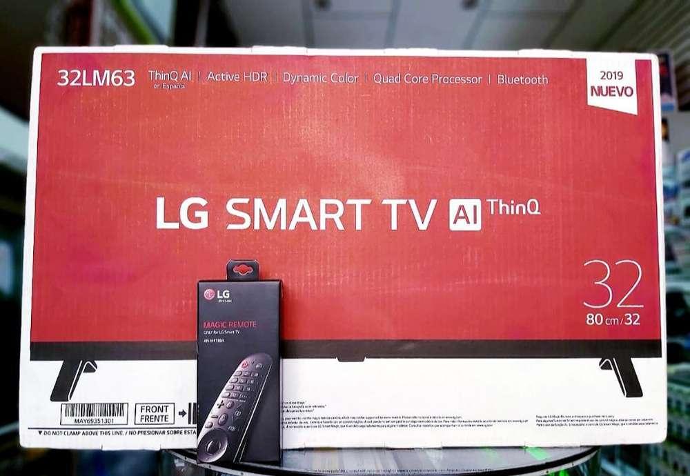 Lg 32 Smart Lm63 2019 Nuevas de Paquete