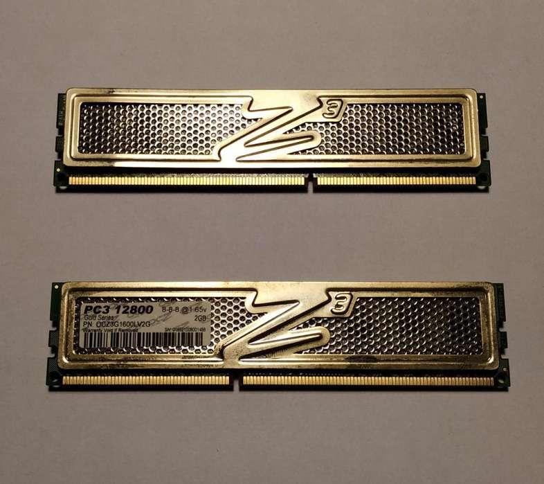 <strong>memoria</strong> OCZ Gold Series 2 x 2GB DDR3 1600MHz