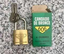 Candado bronce 18 mm 606