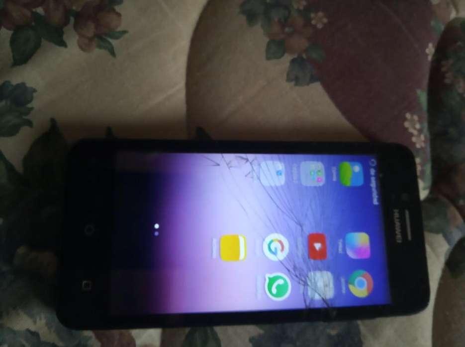 Huawei Y3 Eco Lua Trizado Pero Funcional