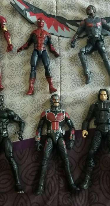 Antman Y Spiderman Marvel Legends